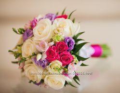 Флористика, свадебные букеты на портбукетнице, игрушки из живых цветов
