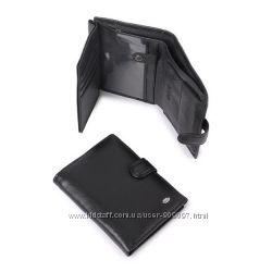 Кожаный мужской кошелек-правник портмоне Dr. Bond классика