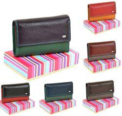 Женский кожаный кошелек Dr. Bond в три сложения разные цвета и модели