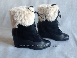 TU новые шикарные кожаные ботинки 38-39р. Супер цена