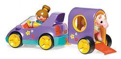 машина с фургоном tolo