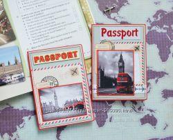 Обложки на паспорт и загранпаспорт ручная работа