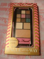 Палетка too faced Jingle All the Way Palette