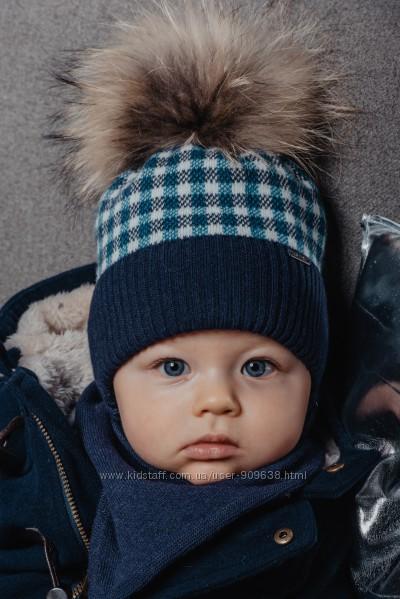 Европейская шапка Польша JAMIKS зима 2020 для мальчишек