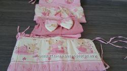 Комплект детского постельного белья и защитные борта Piccolino