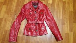 шикарная кожаная куртка