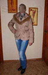 Куртка-пуховик, дубленка и демисезонное пальто.