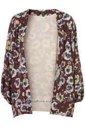 Фирменная цветочная накидка-кардиган кимоно от Top Shop
