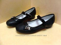 Красивые, стильные туфли на девочек - школа