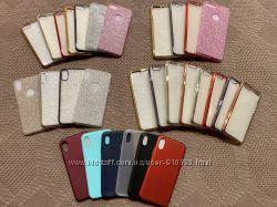 Силиконовый чехол на IPhone X, 6, 6 plus, 6s plus, 7 красный, red, 7 plus 8