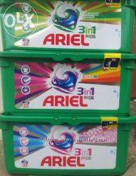 продам капсулы Ариель ARIEL 32шт  3 в 1