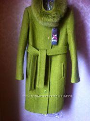 Пальто X-Woys LS-8690 Оливковое