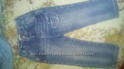 Джинсовые штанишки для девочки 1-2, 5 годика.