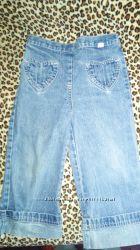Детские джинсовые штанишки на девочку до 3 лет