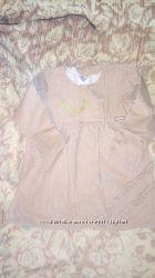 Вельветовое платье для девочки 3 года  одето один раз