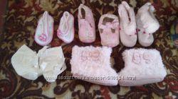 Обувь для девочки до года в идеальном состоянии