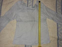 Блузка ляння детская 40см. Можна под украинский стиль. Сзади молния.