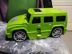 Детский чемодан на колесиках Машина Джип