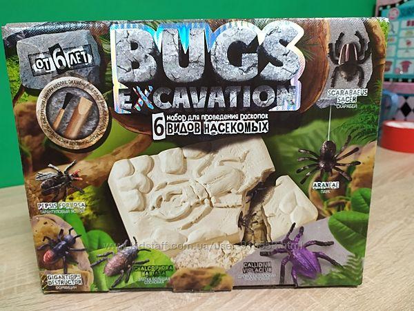 Набор для проведения раскопок Жуки. Наборы для опытов. Раскопки жуки