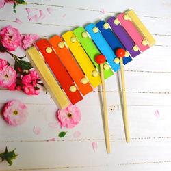 Ксилофон Симфония 8 нот Детский музыкальный инструмент