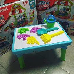 Игровой столик для песка и воды Динозавры
