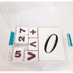 Дидактической набор демонстрационного материала по изучению цифр и знаков