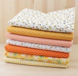 Тонкая ткань для пэчворка, рукоделия, квилтинга, кукольной одежды, игрушек,