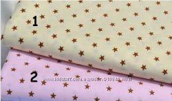 Ткань для рукоделия звезды