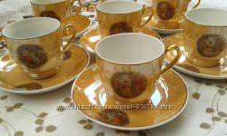 Мадонна, кофейная чашка и блюдце