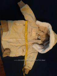 курточка внутри и снаружи с хлопка