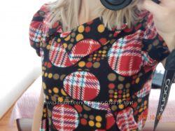 Красивое качественное байковое платье для беременных
