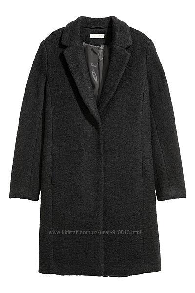 Шерстяное пальто H&M 32р