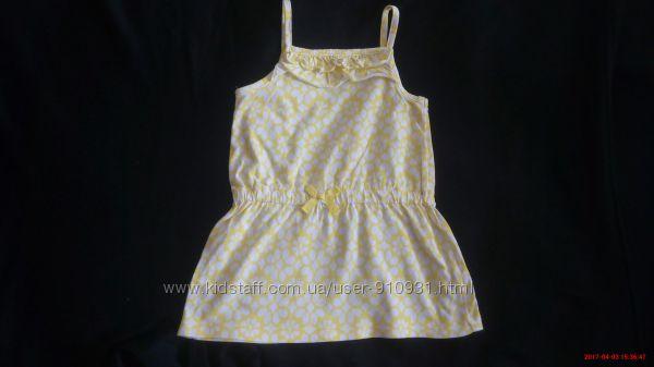 Платье carter&acutes 2t. 92-98 см. 100 хлопок.