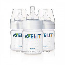 Бутылочки для кормления Philips Avent Классик 125, 260, 330мл. со склада