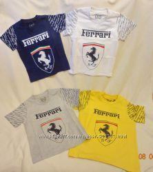 Футболки, поло мальч 2-5 лет Ferrari, Burberry, трикотаж, майки Адидас
