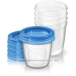 Контейнеры для хранения грудного молока Avent 5 шт SCF61905