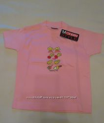 Футболочка розовая Modern Style для девочки 104 рост 4 года, новая