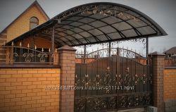 Ворота, навесы, лестницы, перила, оградки и многое другое под заказ