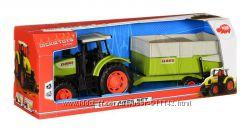 Игрушка Dickie Toys Трактор с прицепом