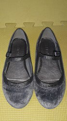 Бархатные туфли next 11 р. наш 29