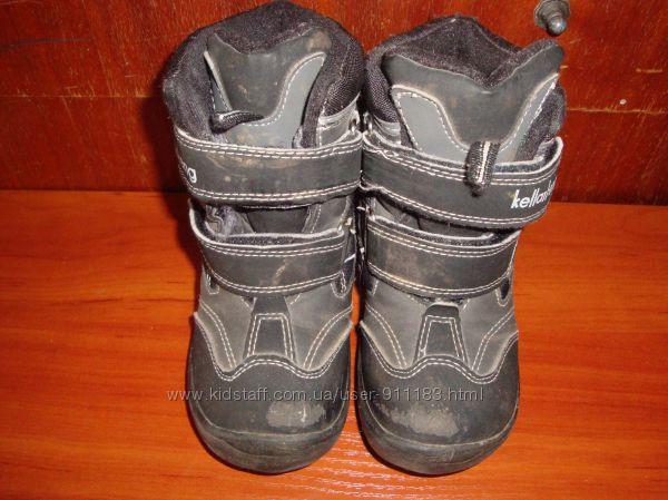 Зимние ботинки, бу, р. 27, стелька 16, 5 см
