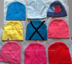 Весенние шапки, бу, р. 4-6 лет
