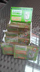 Зеленый пакет биоактиватор для туалетов, выгребных ям