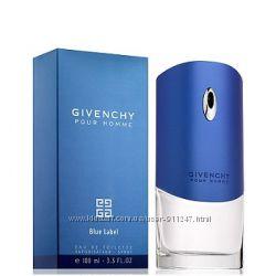 Мужская туалетная вода Givenchy Blue Label Живанши Блю Лейбел 100мл