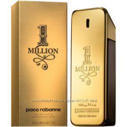 Мужская туалетная вода Paco Rabanne 1 Million Man Пако Рабан 1 Миллион