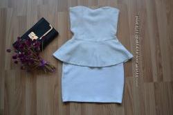 Платье Bershka зефирное