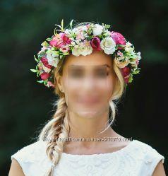 Веночек, венок, ободок, украшение из цветов