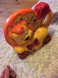 Игрушка-каталка Львёнок Joy Toy отличное состояние