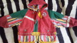 Фирменная курточка ветровка на 2-3года