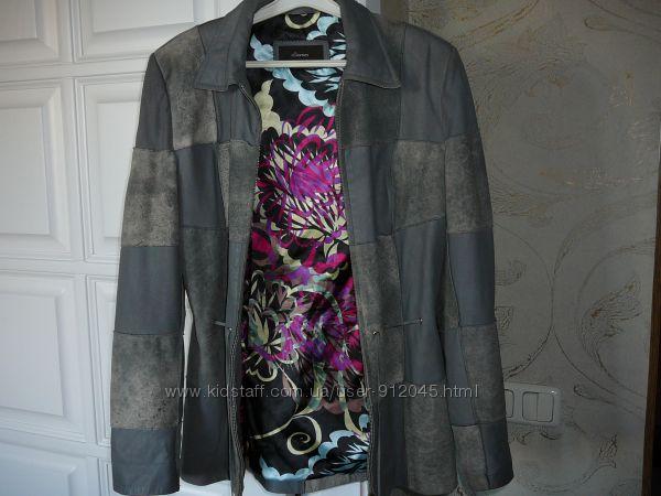 Кожаная куртка Coma разм. S